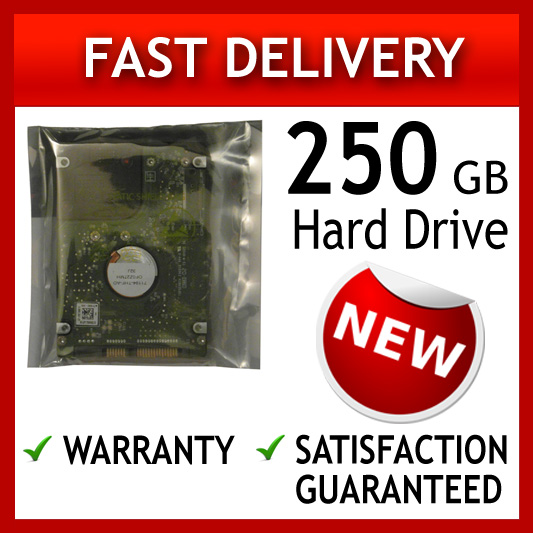 250GB 2.5 9MM LAPTOP HARD DISK DRIVE FOR SATA LAPTOPS