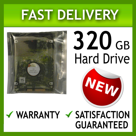320GB 2.5 9MM LAPTOP HARD DISK DRIVE FOR SATA LAPTOPS