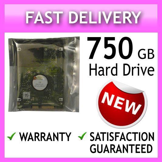 750GB 2.5 9MM LAPTOP HARD DISK DRIVE FOR SATA LAPTOPS